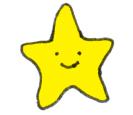 Happy star art design